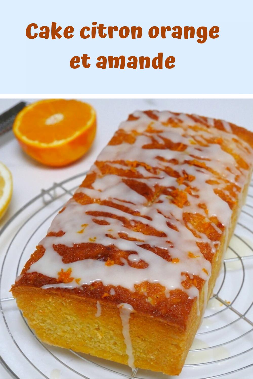 Cake citron orange et amande