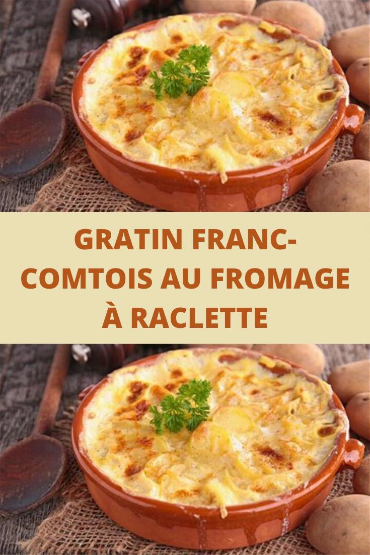Gratin franc-comtois au fromage à raclette