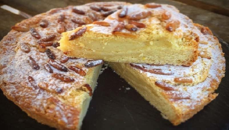 tarte italienne de la grande-mère « torta della nonna »