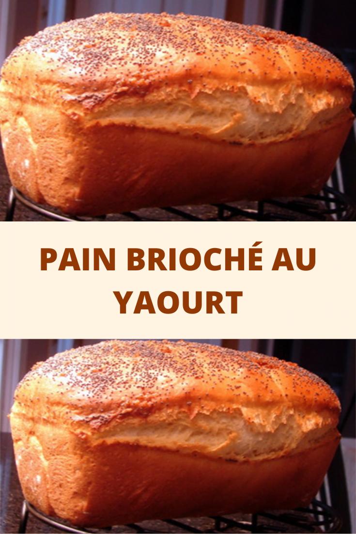 Pain brioché au yaourt