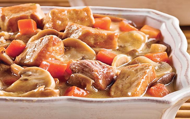 Ragoût de veau aux champignons