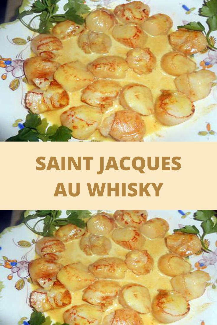 Saint Jacques au whisky