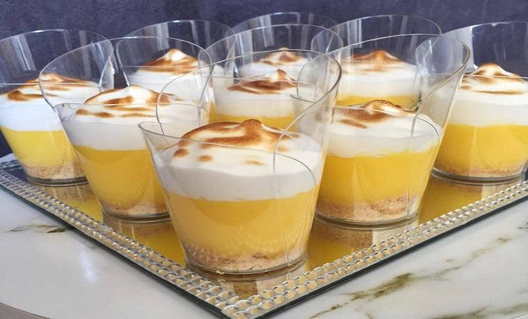 Verrine façon tarte au citron