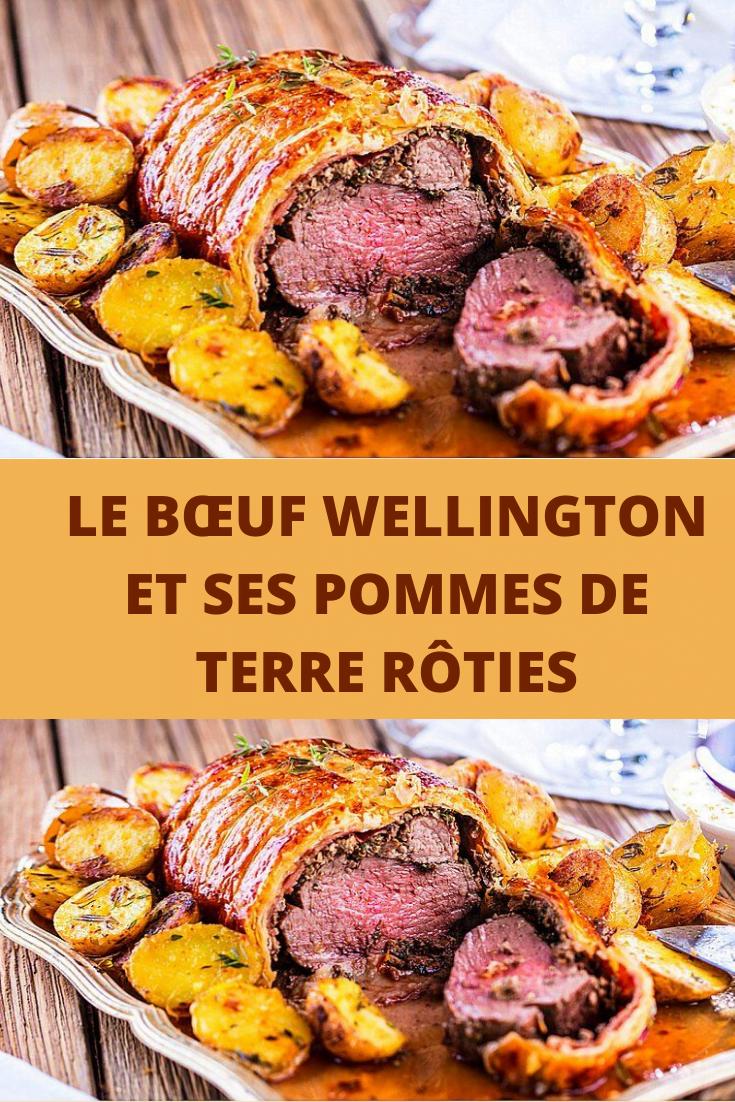 bœuf Wellington et ses pommes de terre rôties