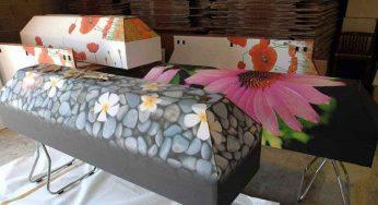 Cercueil en carton écologique et économique écoresponsable!