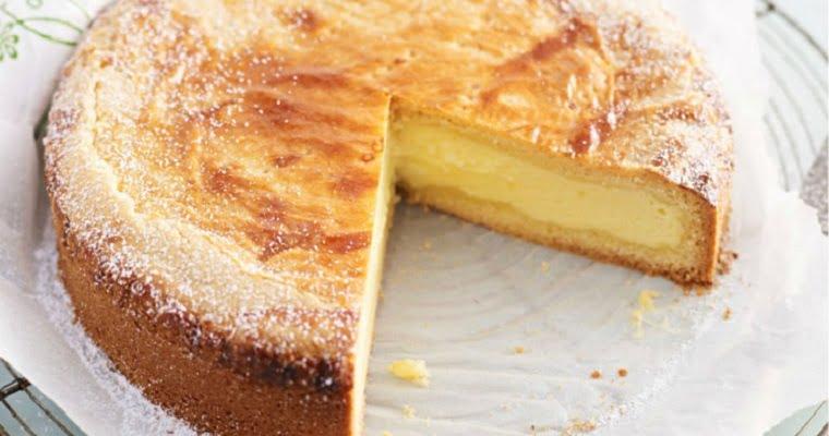 Gâteau à la crème pâtissière