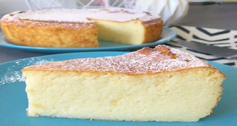 Gâteau italien léger comme un nuage