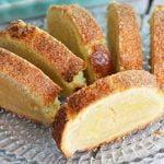 Gâteau roulé aux amandes