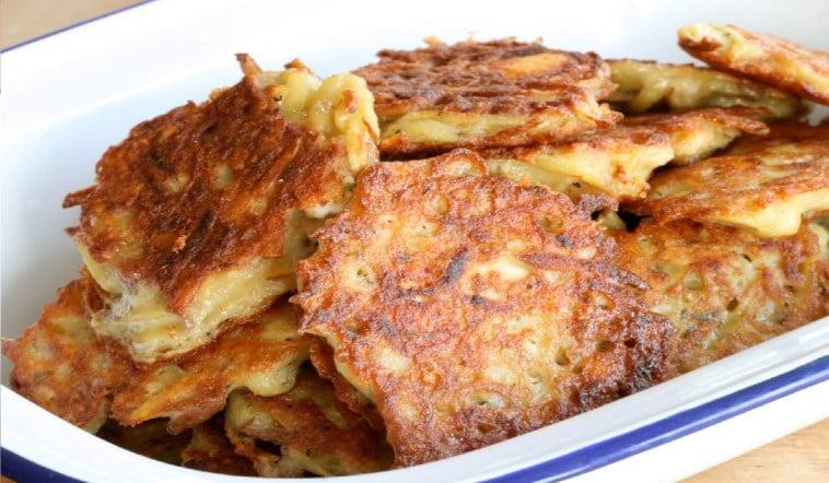 La recette galettes de pommes de terre à l'ancienne.