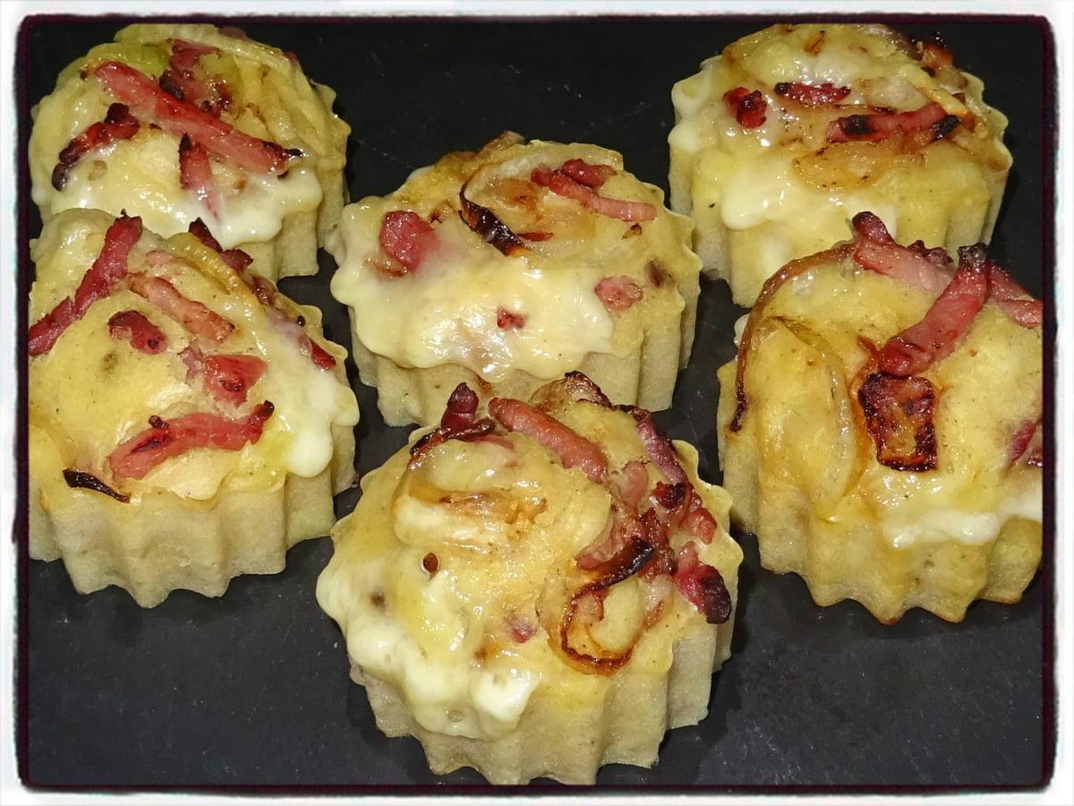 MOELLEUX OIGNON REBLOCHON muffins salés