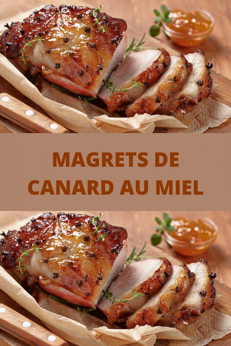 Magrets de canard au miel