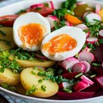 Salade complet Oeuf, Betterave, Pomme de Terre