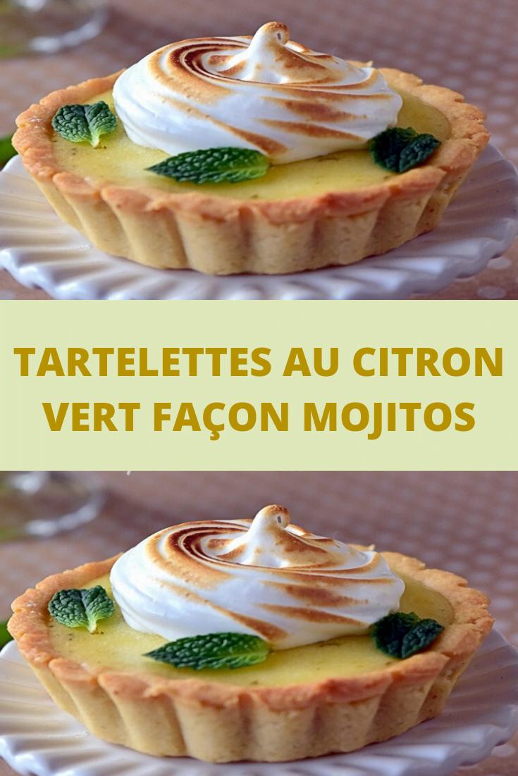 Tartelettes au citron vert façon Mojitos