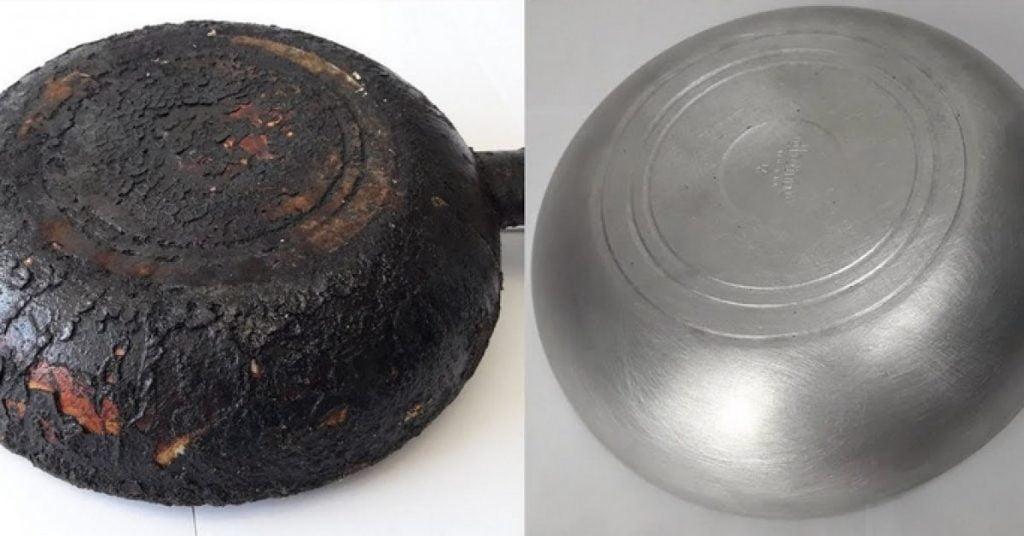 Une astuce facile pour enlever rapidement et facilement la vieille graisse des casseroles et poêles