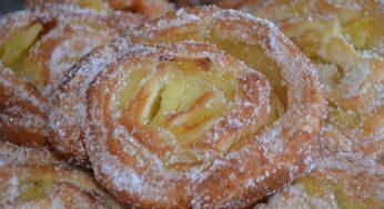 beignets escargots aux pommes moelleux