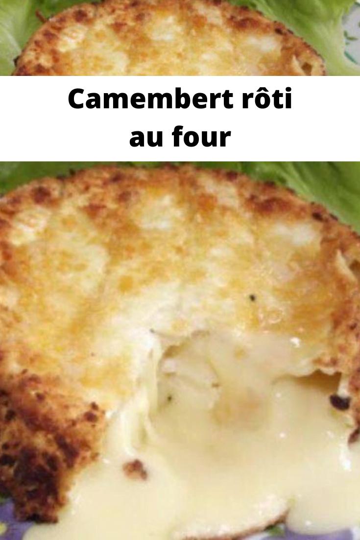 Camembert rôti au four
