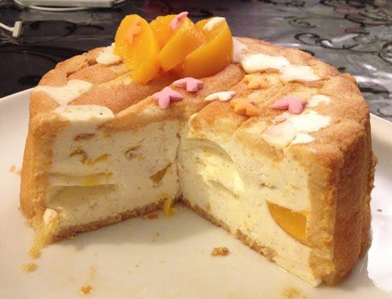 Charlotte {Abricot, vanille et zeste de citron}