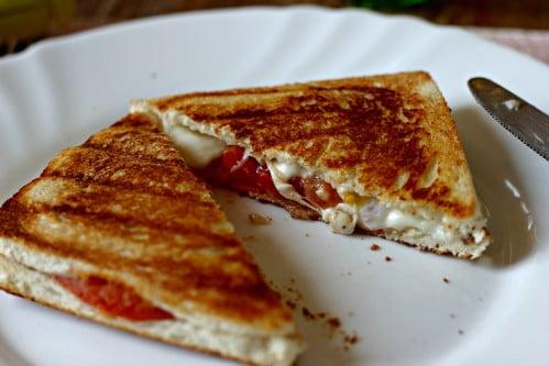 Croques tomate / mozza