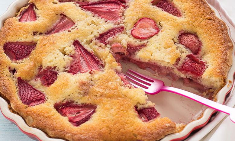 Recette Gâteau Léger aux Fraises WW