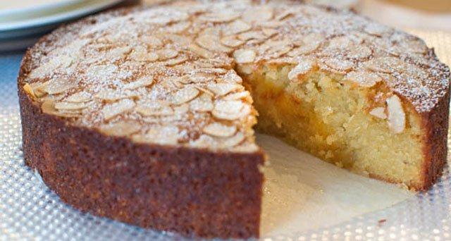 Gâteau aux amandes et noix de coco