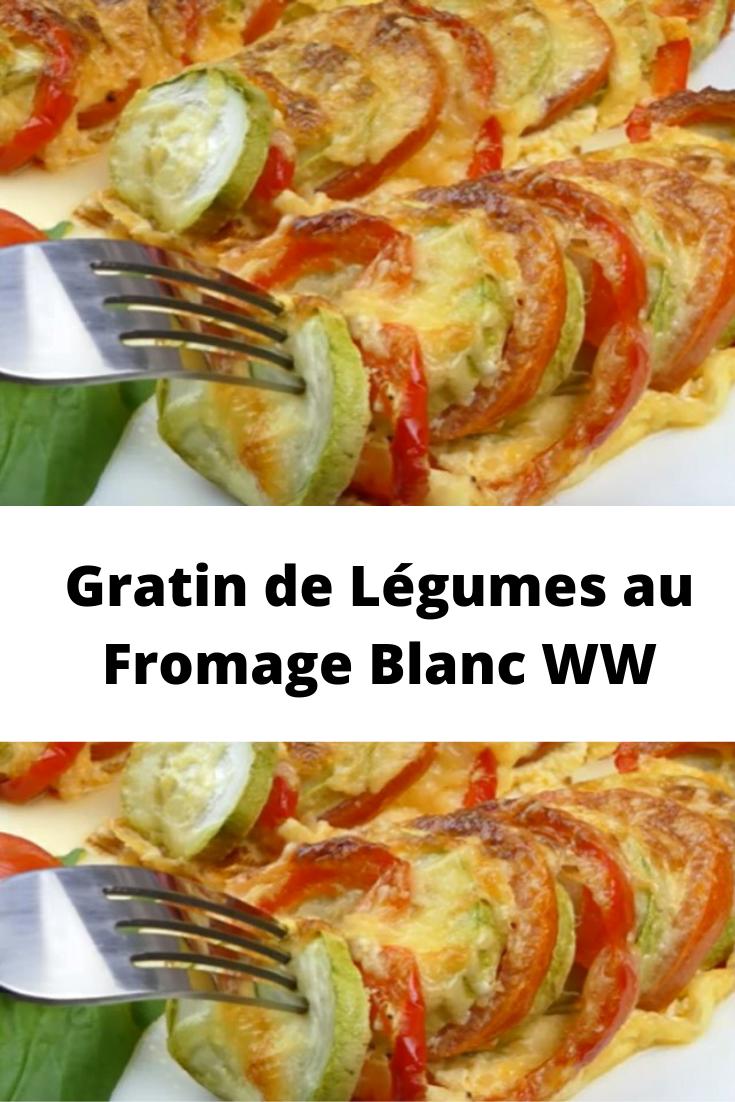 Gratin de Légumes au Fromage Blanc WW
