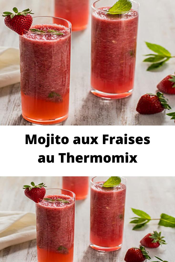 Mojito aux Fraises au Thermomix