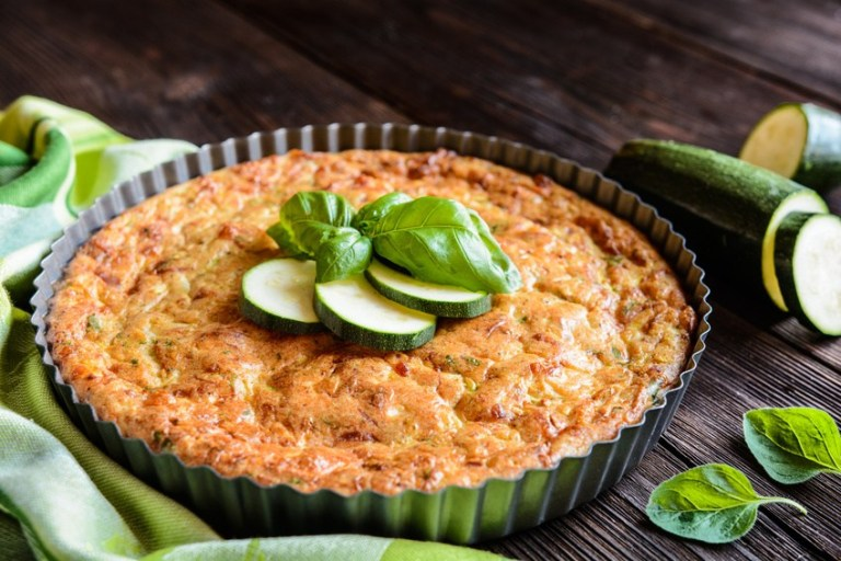QUICHE BOURSIN COURGETTES