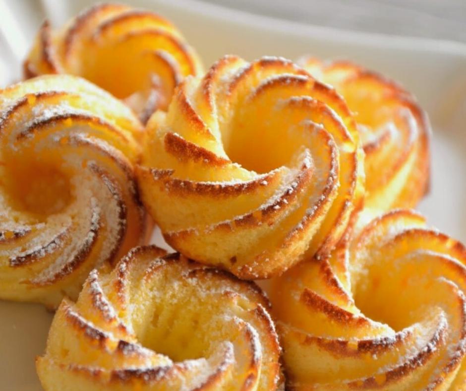 Recette Petits moelleux au citron