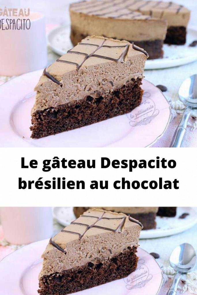 gâteau Despacito brésilien au chocolat