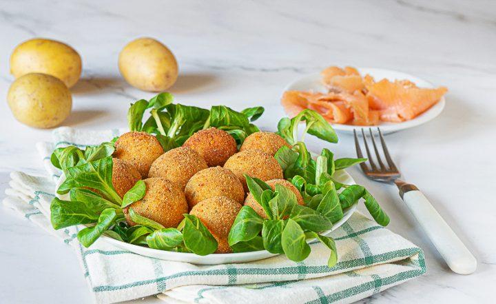 pommes de terre et saumon