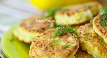 Crêpes aux courgettes, idéal pour déguster ce légume
