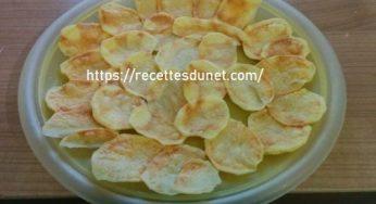 Croustilles de poire alternative délicieuse, fruitée et saine