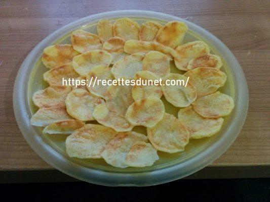 Croustilles de poire