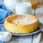 Gâteau au lait sans levure dessert simple et rapide