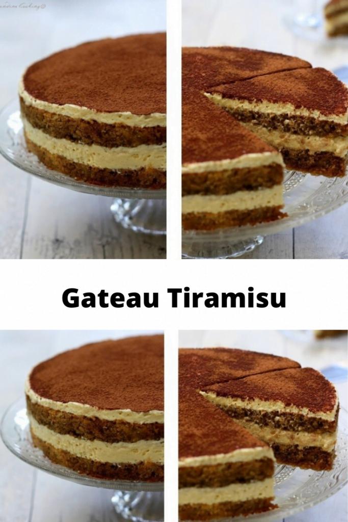 Gateau Tiramisu