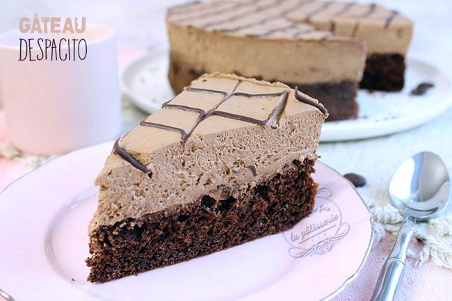 Le gâteau Despacito brésilien au chocolat