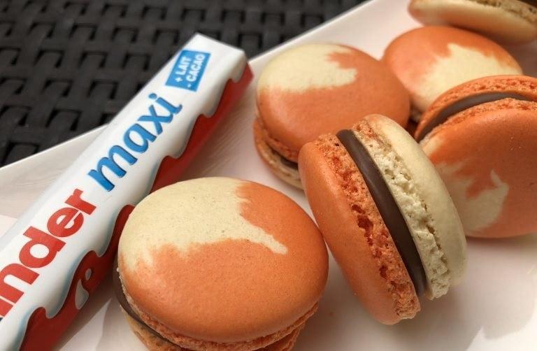 Macarons Kinder Maxi